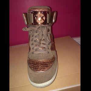 Michael Kors sneaker wedges